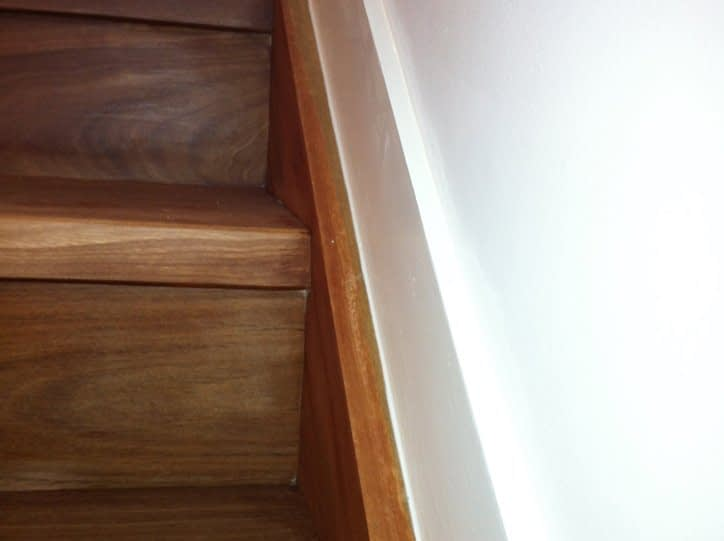 Internal Silicone to Stairs