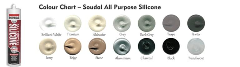 Soudal All Purpose Silicone