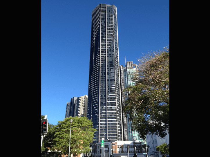 External Silicone Work to High Rise