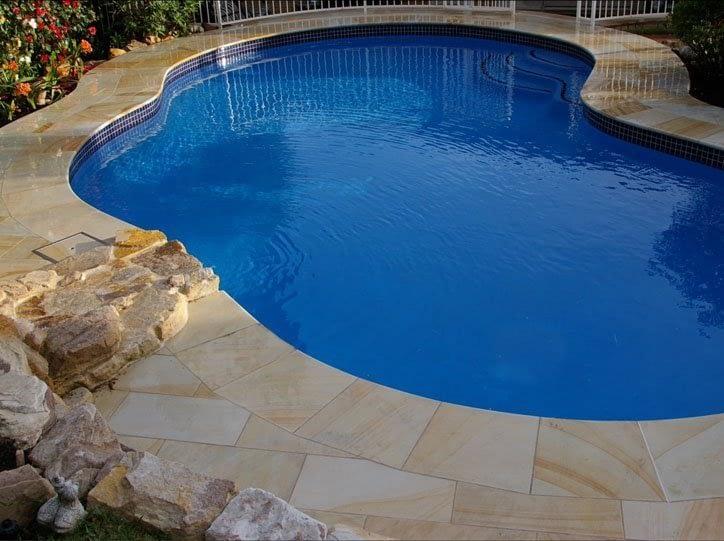 Sealing Pools around Sandstone