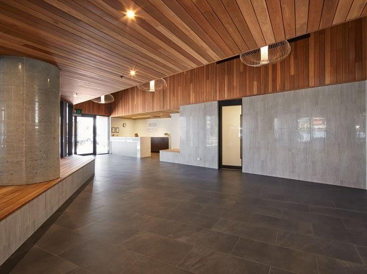 Internal Silicone to Skyring Foyer