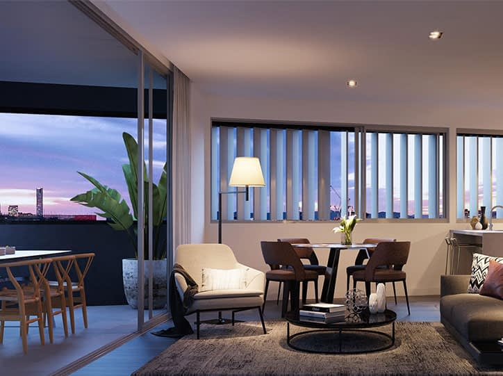 Apartment Gasworks Residences commercial